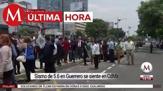 ÚLTIMA HORA: sismo de 5.3 sacude a Guerrero; se siente en CdMx