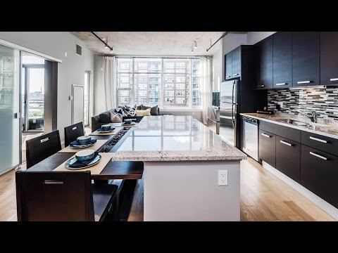 Tour four South Loop apartments at Lofts at Roosevelt Collection