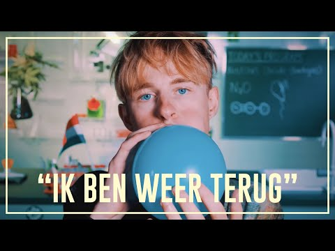 Rens & Bastiaan Fly High On Nitrous Oxide (N20) | Drugslab
