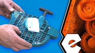 How To Replace The Starter Assembly On A Makita Cut Off Saw