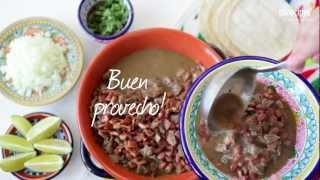 Mexikanisches Rindfleisch (Carne en su jugo)