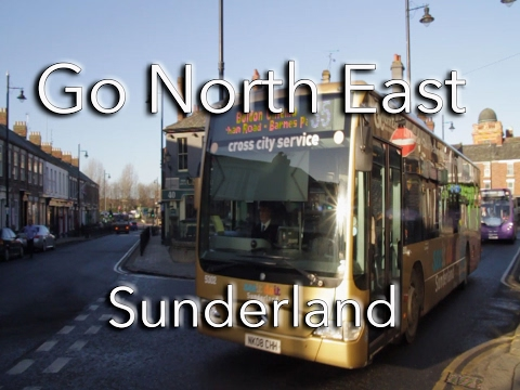 Go North East Buses in Sunderland, January 2017 - Part 1