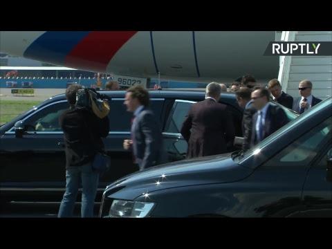 Путин прибывает в Хельсинки на переговоры с Трампом - DomaVideo.Ru