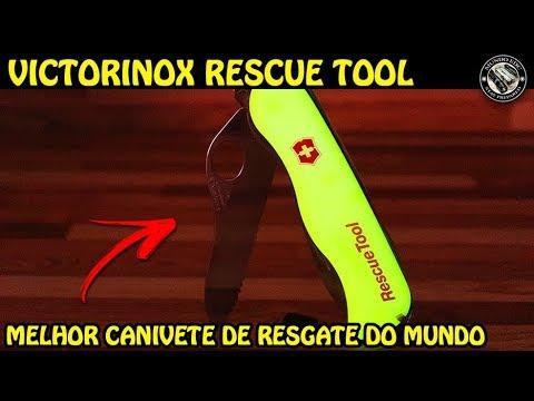 MELHOR CANIVETE DO MUNDO PARA RESGATE - VICTORINOX RESCUE TOOL + ORIGINAL vs FAKE