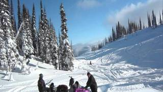 9. 2005 M7 In Revelstoke 3 feet of fresh pow