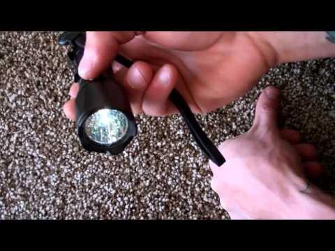 Відеоогляд підствольного ліхтаря підствольний ліхтар Fenix TK15