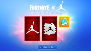 *NEW* Fortnite X Jordan EVENT REWARDS!