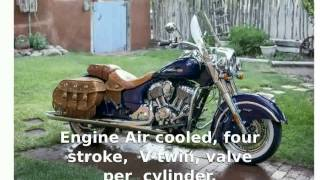 9. [tarohan] Indian Chief Vintage  Details Top Speed Features motorbike Transmission Specification