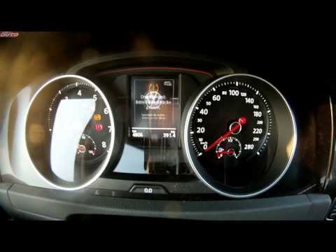 VW Golf GTI Performance da 0 a 259 km/h [VIDEO]