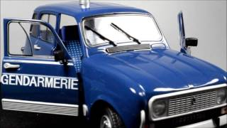 Solido Renault 4 Gendarmerie