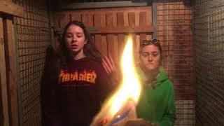 Dziewczyny w piwnicy postanowiły nagrać teledysk! Jak to zobaczyłem to mnie zatkało!