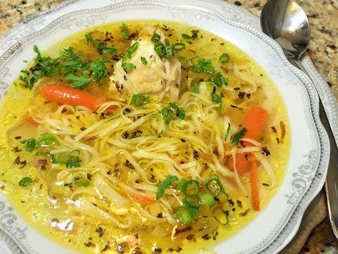 суп лапша с курицей рецепт с фото