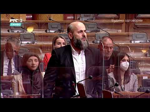 Obraćanje u Skupštini 06. 05. 2021. g. – Akademik Muamer Zukorlić
