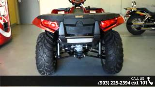 3. 2014 Polaris Sportsman XP 850 H.O. EPS Sunset Red  - Sher...