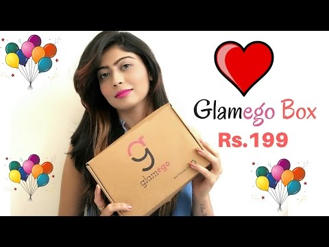 Most Affordable subscription Box- Glamego box | Rinkal Soni
