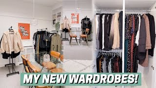 My New Wardrobes! Decluttering + Renovating The Room 🧚🏻♀