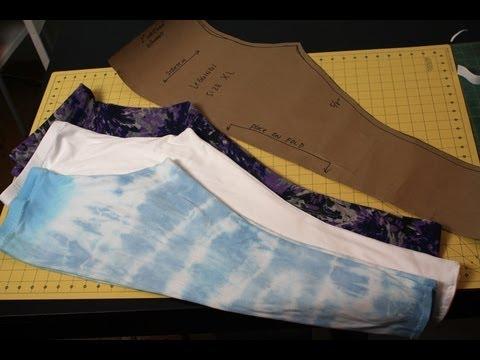 How to make leggings- DIY Tutorial