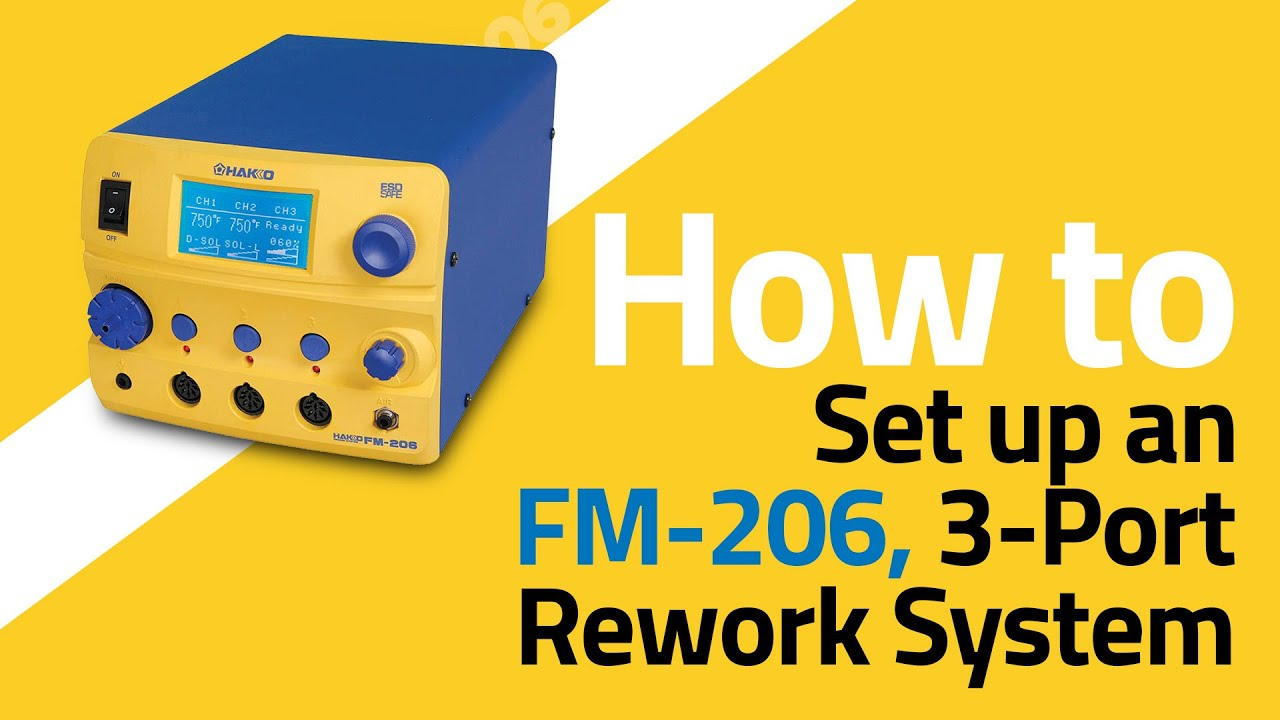 FM-206 Basic Setup