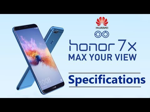 Huawei Honor 7X Specifications | 5.9 Inch FullView Display 📱| Dual Camera Features