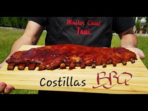 COSTILLAS  EN SALSA BBQ TIERNAS Y JUGOSAS.  EL VÍDEO QUE FOSTER HOLLYWOOD NO QUIERE QUE VEAS.