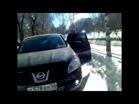 На  пешехода напал водитель с битой