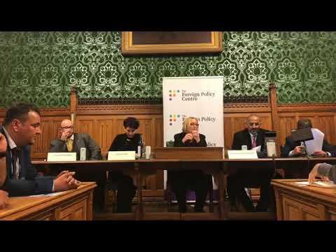 شاهد.. انعقاد جلسة البرلمان البريطاني بمشاركة رئيس المجلس الانتـقالي الجنوبي عيدروس الزبيدي