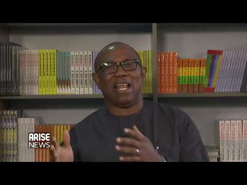 Peter Obi spoke on the crowed contest for the post of presidential candidate and other topics