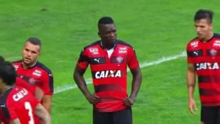 Palmeiras 2 x 1 Vitória - 7/8/2016 Brasileiro da Série A.