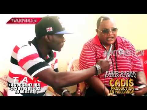 Kisi Ndjora (Vieux Ndjora) Attaque Fally IPUPA et dit Koffi Olomide na Jb Mpiana baza faut