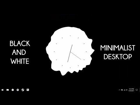 Minimalist Desktop - Make Windows Look Better