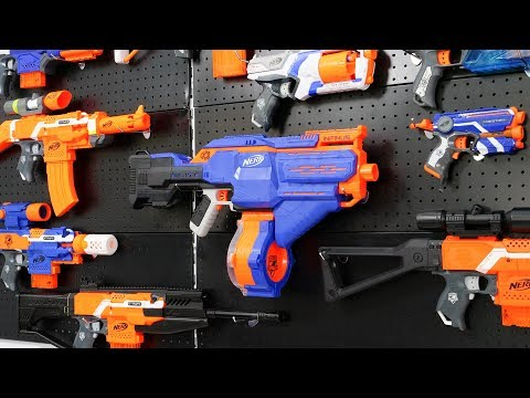 NERF WAR: CHICKEN AND SUPER GUN INFINUS BATTLE SHOT - Thời lượng: 18 phút.