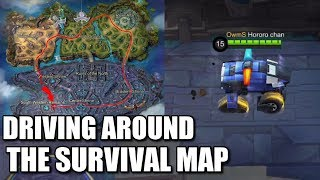 Video DRIVING AROUND THE SURVIVAL MAP MP3, 3GP, MP4, WEBM, AVI, FLV September 2018
