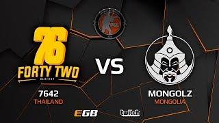 7642 vs TheMongolz, map 1 train, Asia Minor – PGL Major Krakow 2017