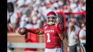 Jalen Hurts Puts On Clinic In Oklahoma Debut | 6 TDS, 508 Total Yards