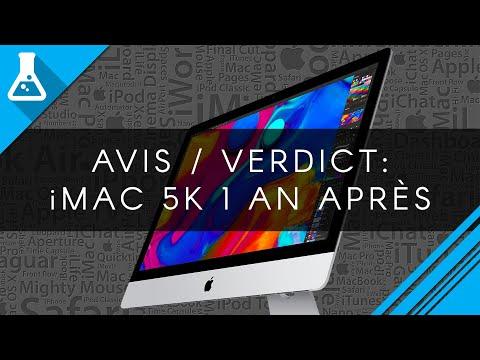 APPLE iMac - MNEA2FN/A - 27'' Retina 5K - 8 Go de RAM - Intel Core i5 3,5GHz - S