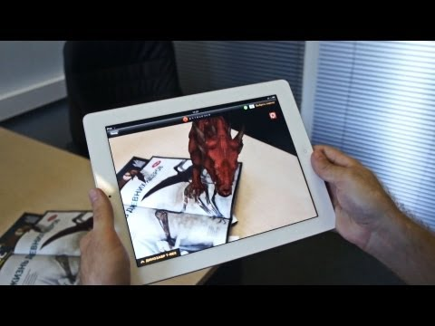 Video of ARTOUCHER Augmented Reality