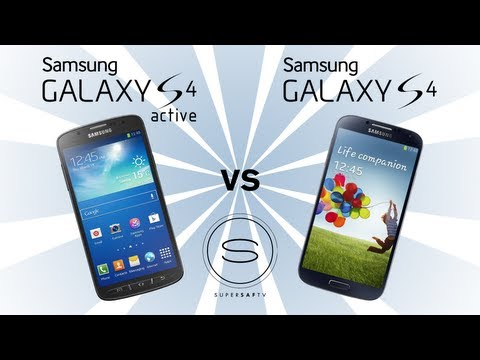 Samsung Galaxy S4 Active vs Samsung Galaxy S4