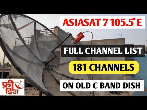 Download Set On Small Dishes See Asiasat 7 E 105 5 And Free To Air