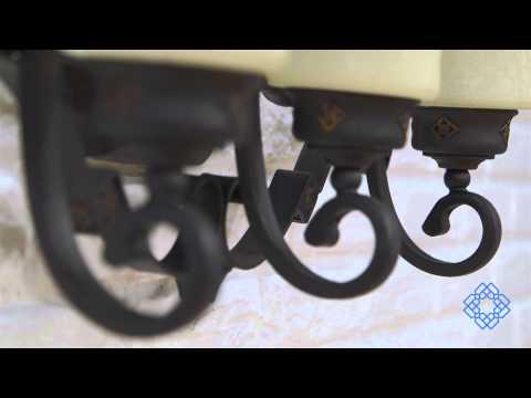 Video for River Crest Three-Light Bath Fixture