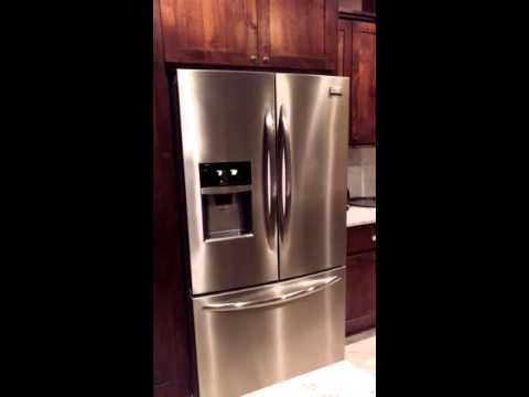 frigidaire gallery cu ft french door in stainless the home depot