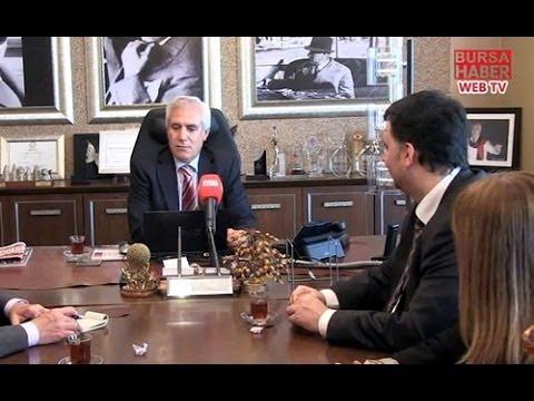 Bursa Haber'den Başkan Bozbey'e ziyaret