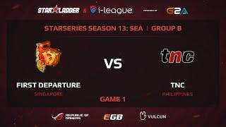 TnC vs FD, game 1