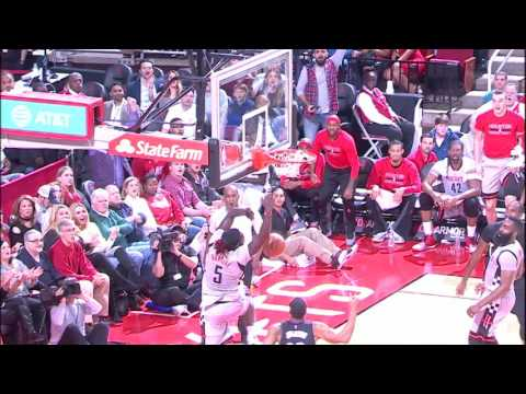 Montrezl Swats on One End, Alley-Oops on the Other