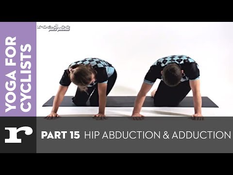 Yoga for Cyclists part 15: Hip abduction and adduction