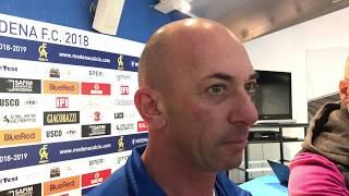 Modena Fc, intervista mister Bollini