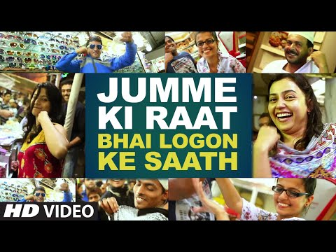 raat - This is why we all know that Salman Khan's fans are the most bindaas and fun loving in the world. You guys Rockkkkk!!!!!! Movie: Kick Song: Jumme Ki Raat Singer: Mika Singh and Palak Muchhal...