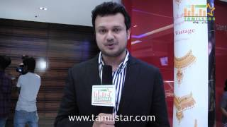 Producer Varun Manian Speaks  at Vaayai Moodi Pesavum Press Meet
