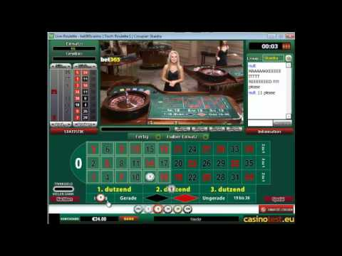 Euro Live Dealer Roulette Video