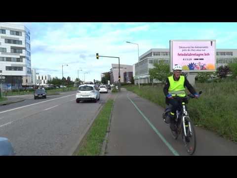 AffiviAffivision écran LED 8m² - Cesson Sévigné - Route de Fougères - [Affiouest]