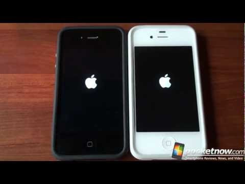 iphone 4 - Full iPhone 4S review: http://bit.ly/tSkfdu Apple claims that the iPhone 4S is 2x faster with CPU tasks and 7x faster with graphics tasks when compared to th...